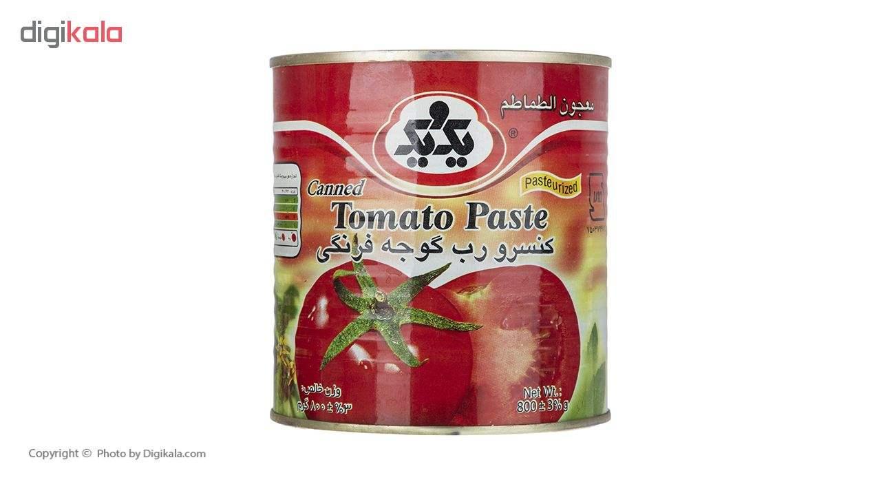 رب گوجه فرنگی یک و یک