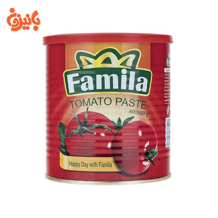 کنسرو گوجه فرنگی فامیلا