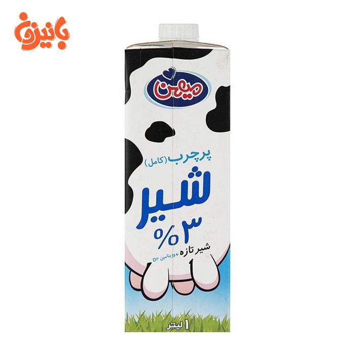 شیر پر چرب میهن