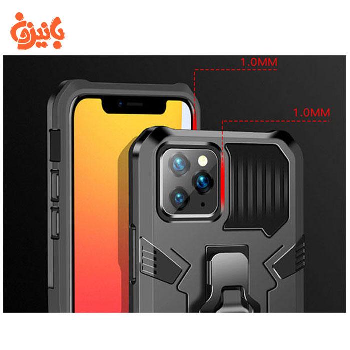 کاور مدل i-crystal برای گوشی موبایل iPhone 12 pro max