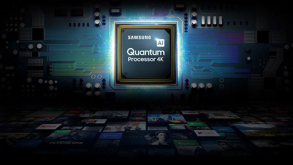 پردازنده 4K کوانتومی تلویزیون 75اینچ سامسونگ 75Q70T