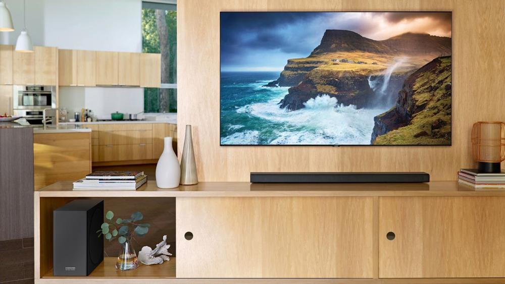 دیزاین منحصر بفرد تلویزیون 75اینچ سامسونگ 75Q70T