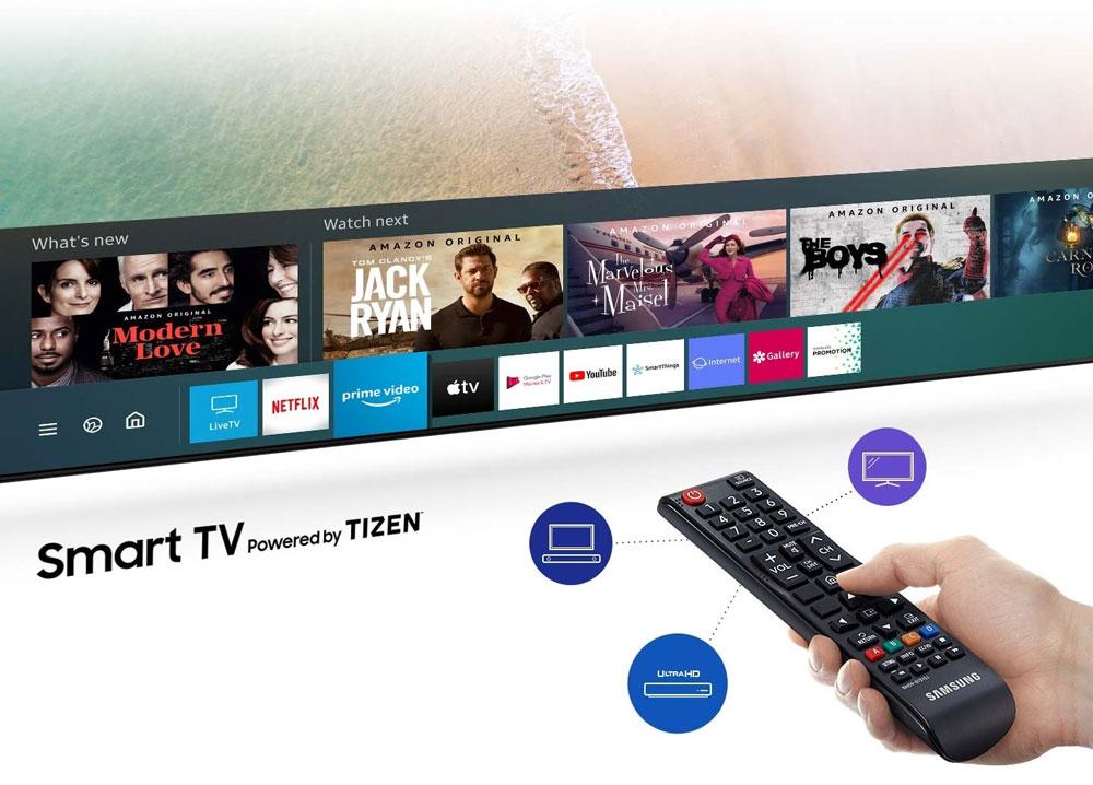 ویژگی های هوشمند تلویزیون TU7172 فورکی