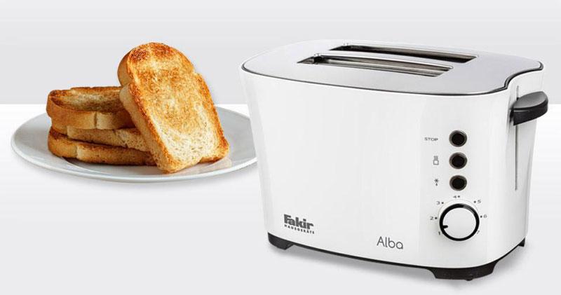 توستر نان فکر مدل ALBA