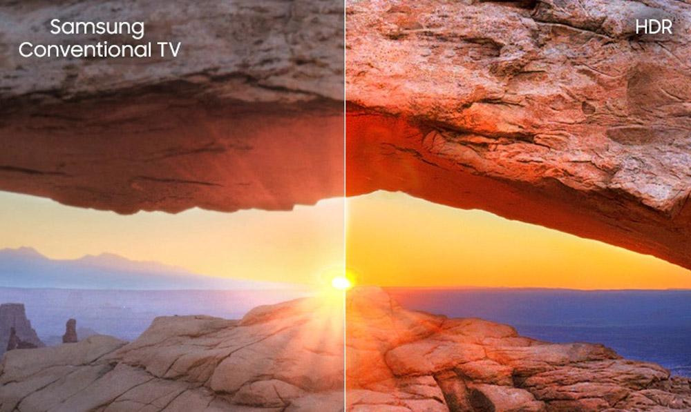 فناوری HDR تلویزیون 75اینچ سامسونگ 75RU7100