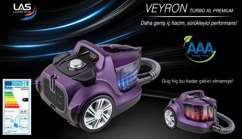 جارو برقی مخزن دار فکر مدل Veyron Turbo XL Premium