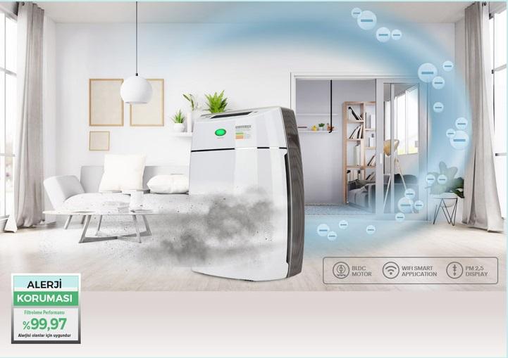 تصفیه کننده هوا فکر مدل LUMINOSO SMART