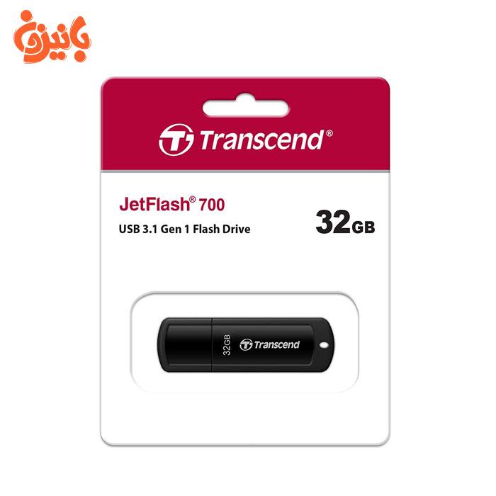 فلش مموری ترنسند JetFLASH 700 32GB USB 3.1