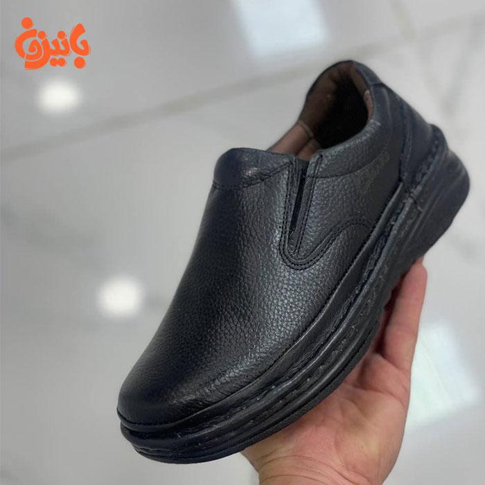 کفش چرم اصل برند کلارکس