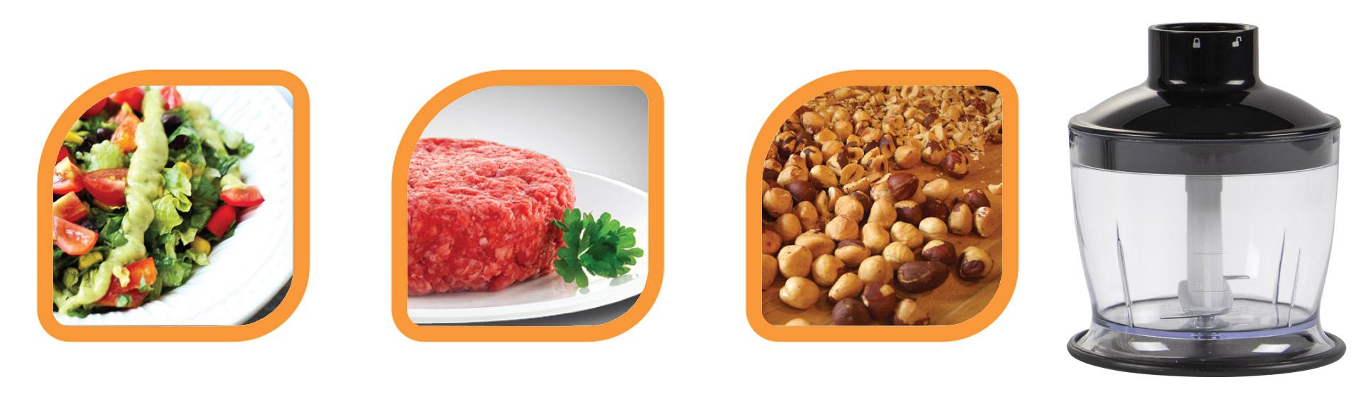 گوشت کوب سه کاره NS-991