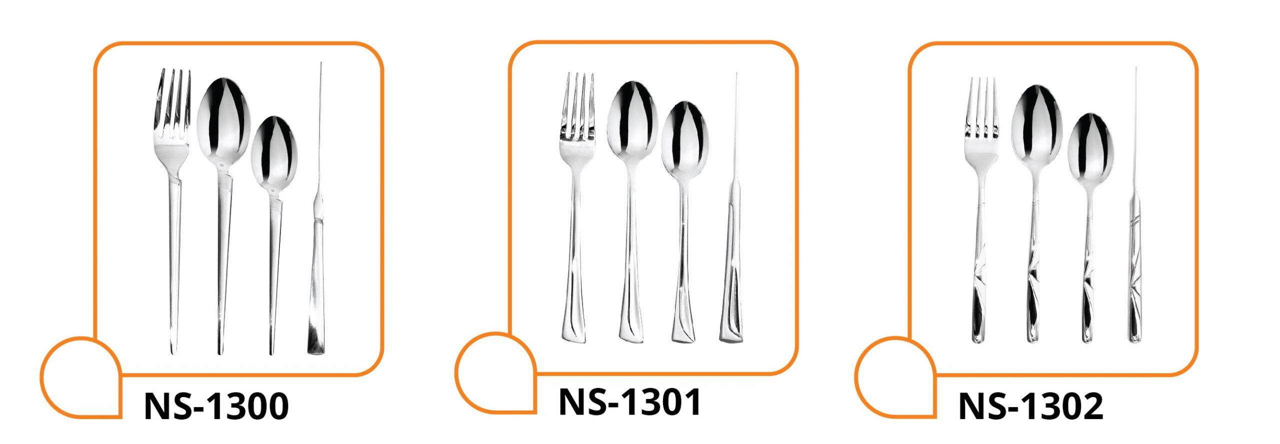 سرویس قاشق و چنگال NS-1300-1301-1302