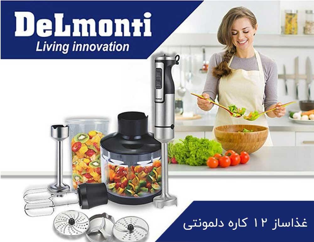 غذاساز چندکاره دلمونتی مدل DL 395